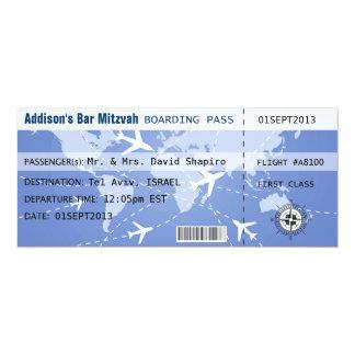 Instapkaart Placecard 10,2x23,5 Uitnodiging Kaart