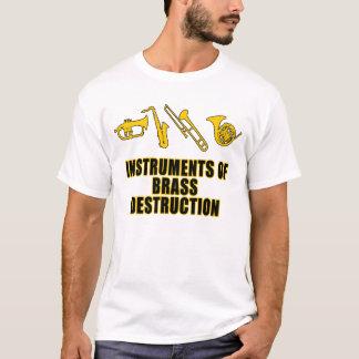 Instrumenten van de Vernietiging van het Messing T Shirt