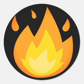 Intense Brand Emoji Ronde Sticker