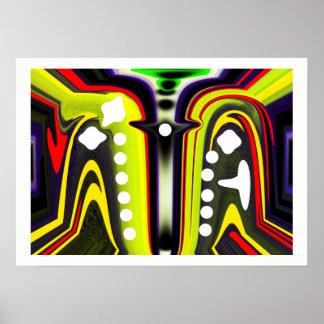 Inter-dimensionale sporen poster