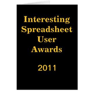 Interessante Spreadsheet - voeg kaart van het