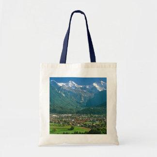 Interlaken en de waaier Jungfrau Budget Draagtas