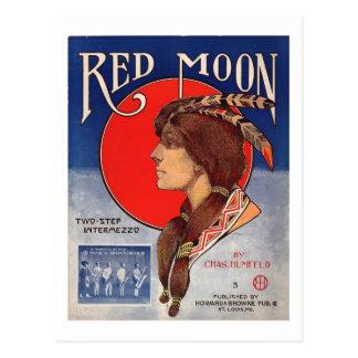 Intermezzo het In twee stappen 1908 van Redmoon Briefkaart
