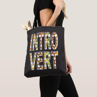 Intern ontwerp | van het introvert Canvas tas