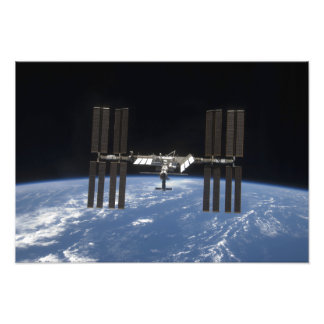 Internationaal Ruimtestation 12 Fotografische Afdruk