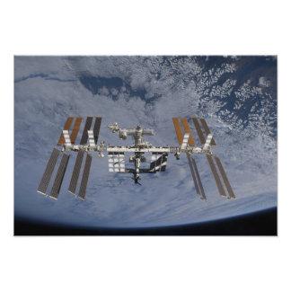 Internationaal Ruimtestation 13 Foto Print