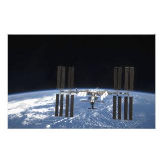 Internationaal Ruimtestation 18 Foto Prints