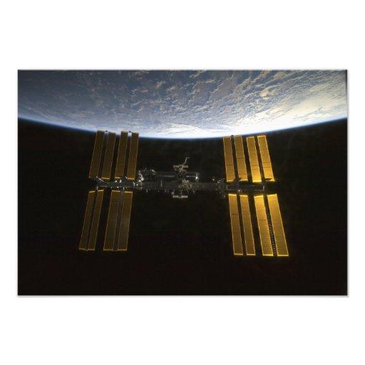 Internationaal Ruimtestation 20 Fotografische Afdruk