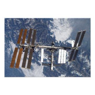 Internationaal Ruimtestation 9 Fotografische Afdruk