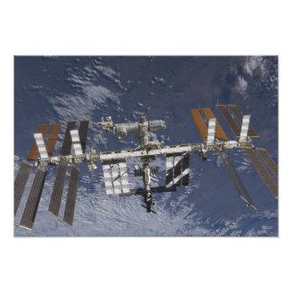 Internationaal Ruimtestation in baan Foto Prints