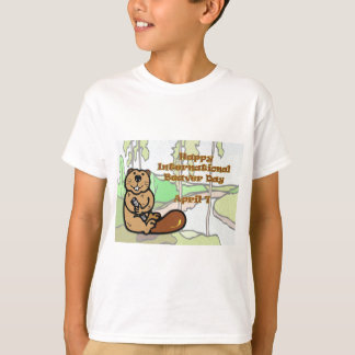 Internationale Bever Dag 7 April T Shirt