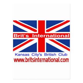 Internationale Brit Briefkaart