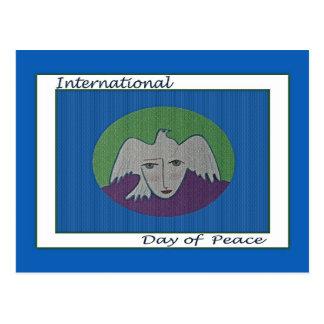 Internationale Dag van het Briefkaart van het