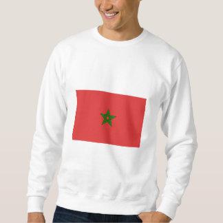Internationale de VLAG van Marokko Trui