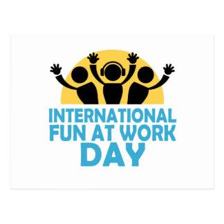 Internationale Pret bij de Dag van het Werk - de Briefkaart