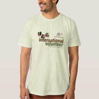 Internationale Vrijwilligers Organische T-shirt