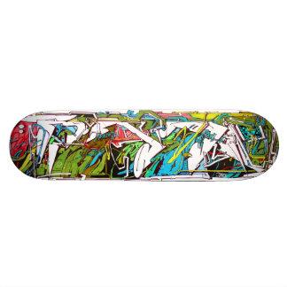 Intestinale Standvastigheid - het Dek van Graffiti 21,6 Cm Old School Skateboard Deck