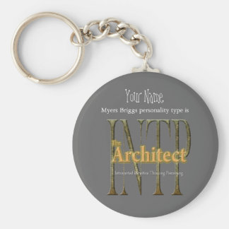 INTP theArchitect Sleutelhanger