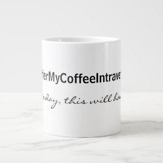 Intraveneuze Koffie Grote Koffiekop