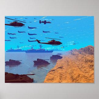 Invasie Poster