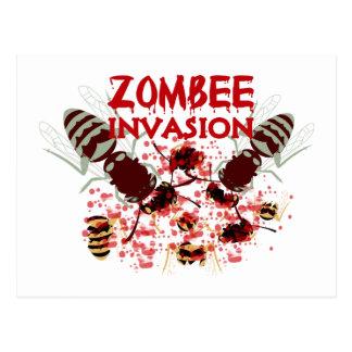 Invasie van Zombees Briefkaart