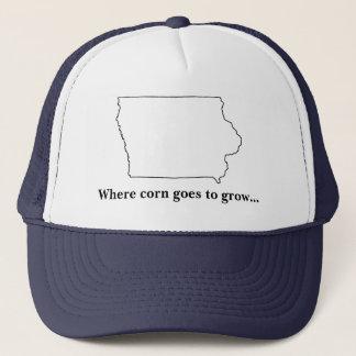 Iowa, waar het graan… trucker pet