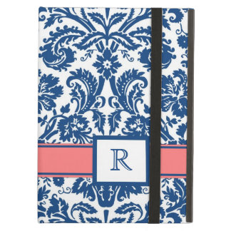 iPad BloemenDamast van het Koraal van het Monogram
