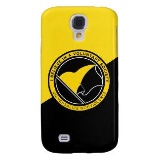 iPhone4/4S hoesje-Partner van Voluntaryist het Hoe Galaxy S4 Hoesje
