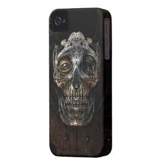 iPhone4/4s Hoesje van de Schedel van Steampunk