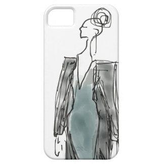 iPhone5/5s Hoesje van de Blazer van de mode