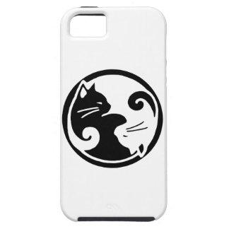 iPhone5/5S Hoesje van de Katten van Yang van Yin