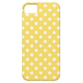 iPhone5/5S Hoesje van de stip in Gele de Schil van