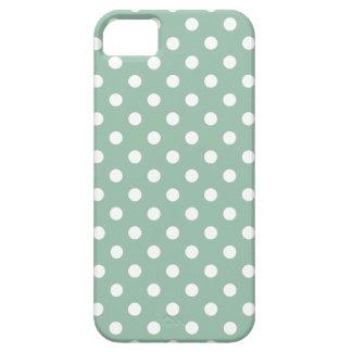 iPhone5/5S Hoesje van de stip in Groene Jade