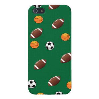 iPhone5 van het Thema van sporten Groen Hoesje Als iPhone 5 Cover