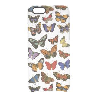 iPhone6/6S Duidelijk Hoesje van vlinders