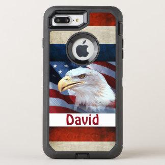 iPhone6/6s Hoesje/Eagle van de Verdediger van OtterBox Defender iPhone 8 Plus / 7 Plus Hoesje