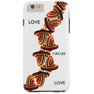 iPhone6/6s iPad Hoesje van het Kant van de liefde