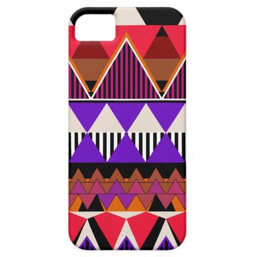 iPhone 2 5 van het Neon van de pop Stammen geval-P iPhone 5 Cover