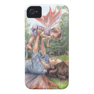"""""""iPhone 4 het uitrekken zich van Haar Vleugels"""" na iPhone 4 Hoesje"""