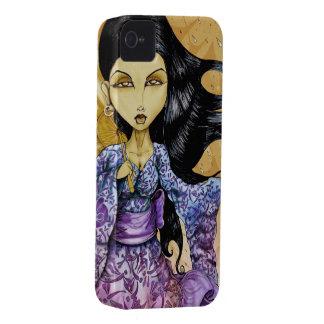 iPhone 4 van de Geisha van de regen Hoesje