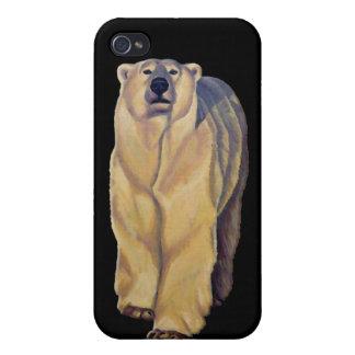 iPhone 4 van de Kunst van de Ijsbeer Hoesje draagt iPhone 4 Hoesjes