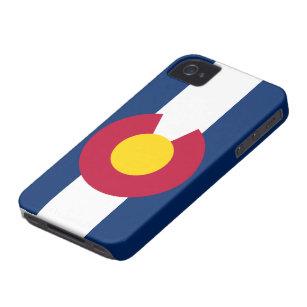 iPhone 4 van de Vlag van Colorado Hoesje