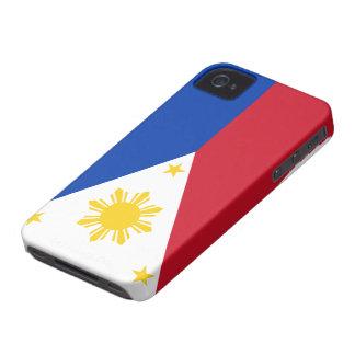 Iphone 4 van de Vlag van Filippijnen hoesje