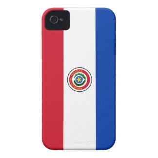 iPhone 4 van de Vlag van Paraguay Dekking iPhone 4 Hoesje