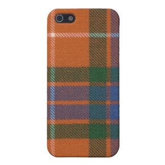 iPhone 4 van het Geruite Schotse wollen stof van F iPhone 5 Cases