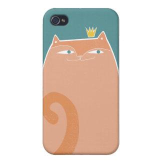 iPhone 4 van koningin Kitty hoesje iPhone 4 Hoesje