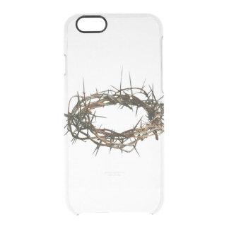 IPhone 5 Christelijke hoesjeKroon van Doornen Doorzichtig iPhone 6/6S Hoesje