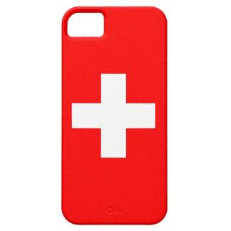 IPhone 5 Hoesje met Vlag van Zwitserland