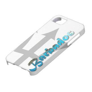 iPhone 5 hoesje-Tropische Barbados Bajan Van Barba Barely There iPhone 5 Hoesje
