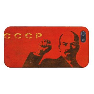 iPhone 5 Huid met de Vintage Druk van Lenin de USS iPhone 5 Hoesje